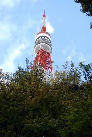 東京タワーの様子修正