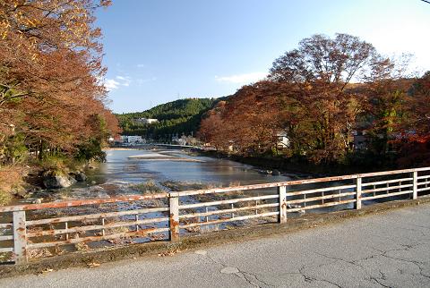 秋川を超える
