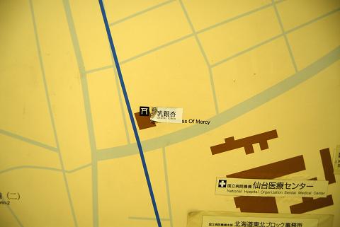 reseize地下鉄構内にあるマップ2