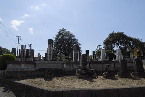 reseize墓地と