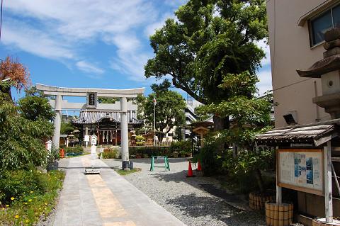 蒲田神社・表参道
